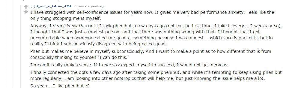 redditor testimonial